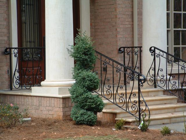 Wrought iron handrails | Ornamental Iron