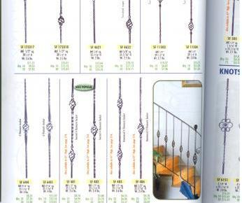 Wrought iron balustrades | basket balusters